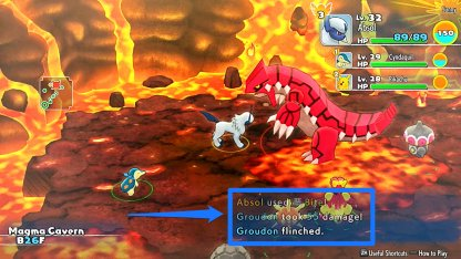 Try to Make Groudon Flinch