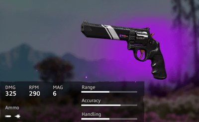 Far Cry New Dawn Guerilla-Gear .44 MAGNUM