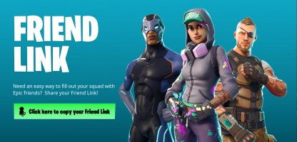 Use the Friend Link (Friend Code)