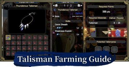 Talisman Farming