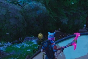 Inside Building At Dusty Divot