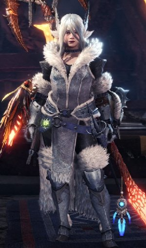 Frostfang Barioth β+ Armor Female