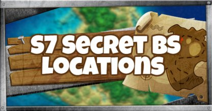 Season 7 Secret Tier Locations Guide