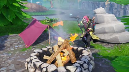 Search a Chest, Vending Machine, & Campfire (Week 7)