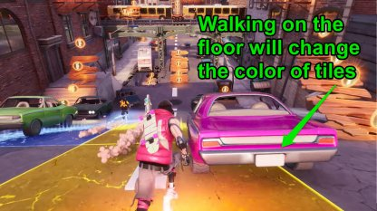 Walking On The Floor Will Change Tile Color