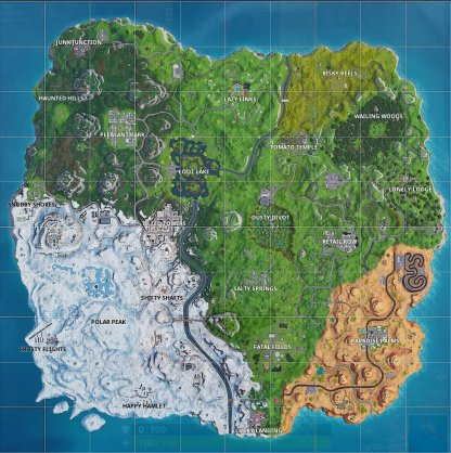 New Season 7 Map