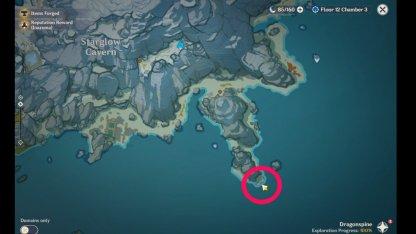Drifting Bottle Map Location