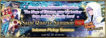 Solomon Pickup Summon Banner