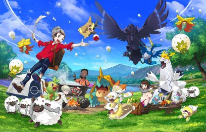 Experience the Galar Region with Friends