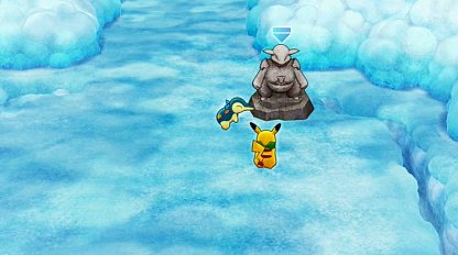 Stock Up on Items at Kangaskhan Statue
