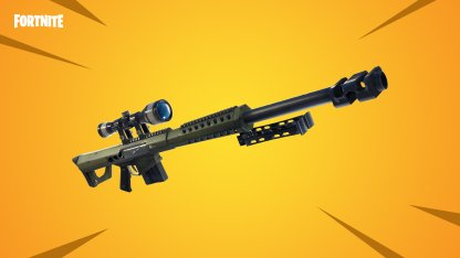 New Weapon - Heavy Sniper Rifle!