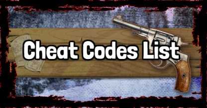 Red Dead Redemption 2 Cheat Codes