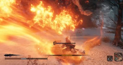 Attacks with its Fire Arm Cannot be Parried