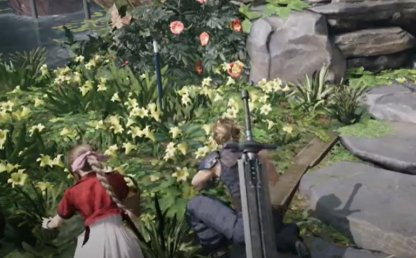 Pick Flowers With Aerith