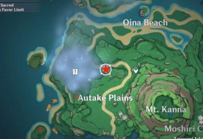 Autake Map 1
