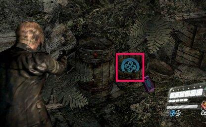 Leon Chapter 3 Emblem 4 Location