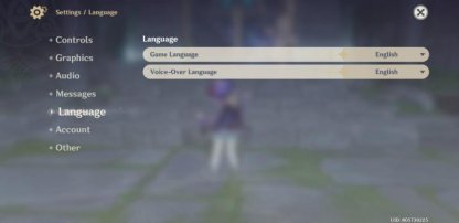 Can Change Both Text & Voice Languages