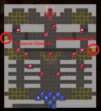 Assault at the Rite of Rebirth Beginning Map & Treasure Chest