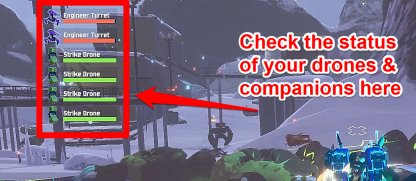 Check Health Of Companions On HUD