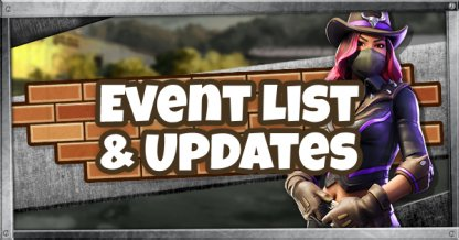 Event Challenge List & Updates