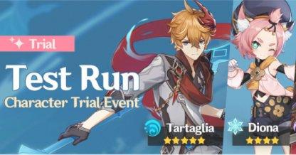 Tartaglia & Diona Trial