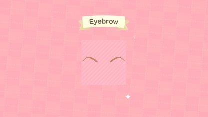 Basic Eyebrow Pattern Tutorial