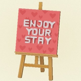 Enjoy your stay