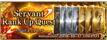 Rank Up Quest Part Five banner
