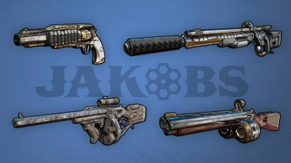 JAKOBS - Weapon Brand Features
