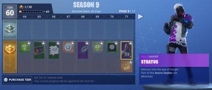 Unlock Stratus Skin at Tier 71