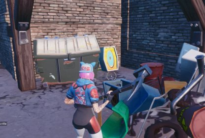 Stage 1 Search the letter O west of Pleasant Park