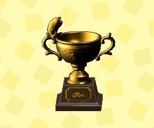 Fish Trophy Gold