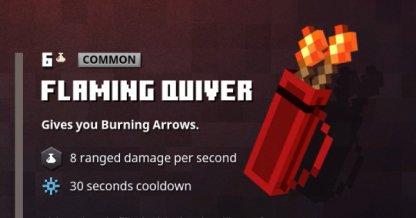 Flaming Quiver