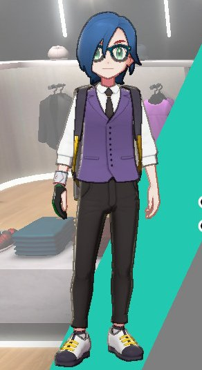 Vest And Tie Ensemble (Purple)