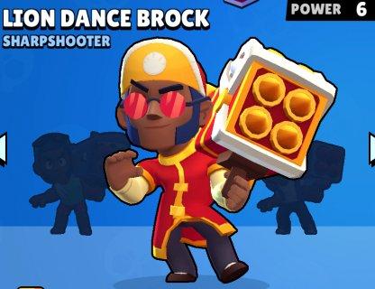Lion Dance Brock
