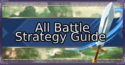 All Battle Strategy Guide List