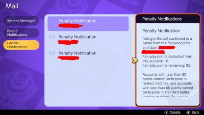 Lower Fair Play Rank Will Result In Match Bans