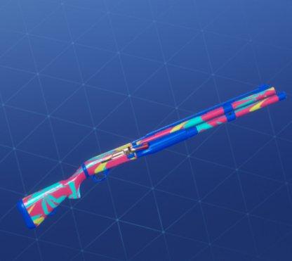 NEON TROPICS Wrap - Shotgun