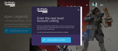 Link Your EA Account and Your Twitch Account
