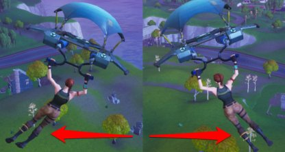 Strafe Glider From Left To Right