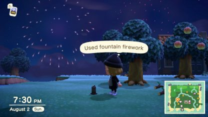 Used fireworks