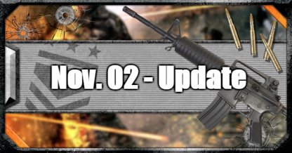 Nov 2  - Update Summary: PC Weapon & Stability Tuning