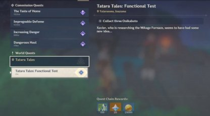Tatara Tales: Functional Test Guide & Rewards