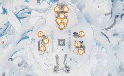 Polar Peak Chest Spawn Locations