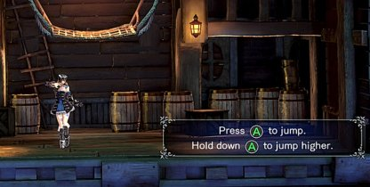 Hold Down Jump Button When Jumping