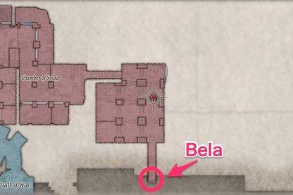 Bella Dimitrescu Location