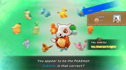 Choosing a starter Pokemon