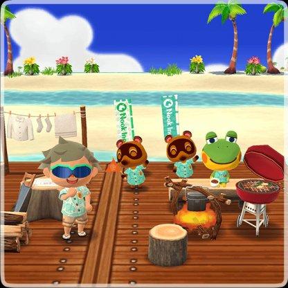 Island Excursion Invite In Pocket Camp