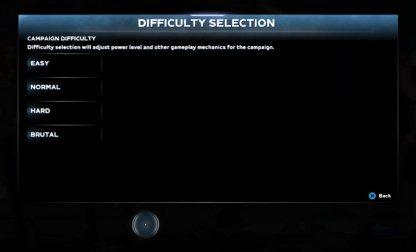 Choose At Start Of Mission