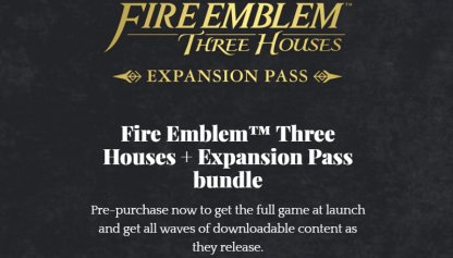 Fire Emblem: Three Houses Standard & Expansion Pass Bundle